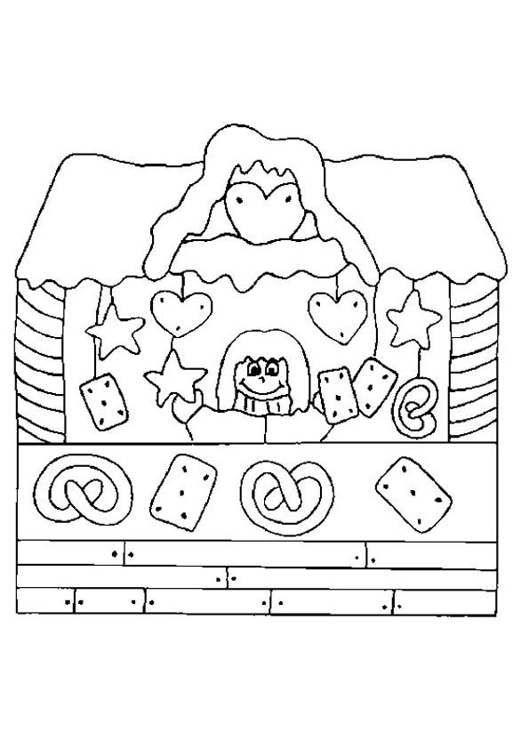 Coloriage et dessins gratuits Magasin pour Les Petits à imprimer