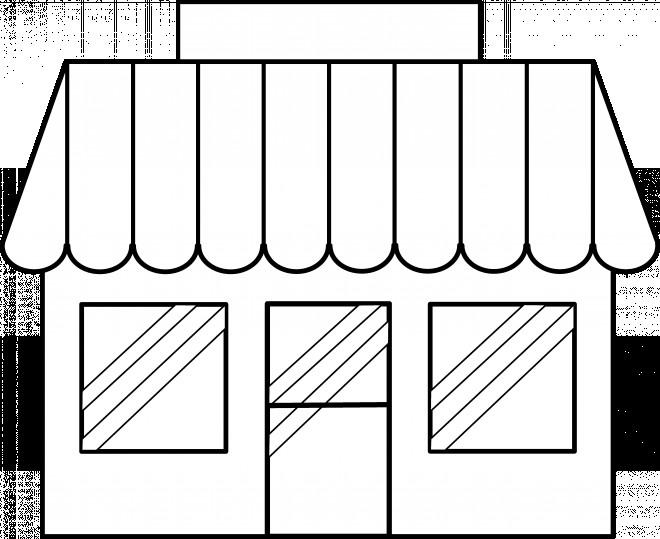 Coloriage et dessins gratuits Magasin simple à imprimer