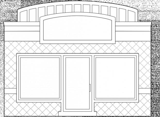 Coloriage et dessins gratuits Magasin sur ordinateur à imprimer