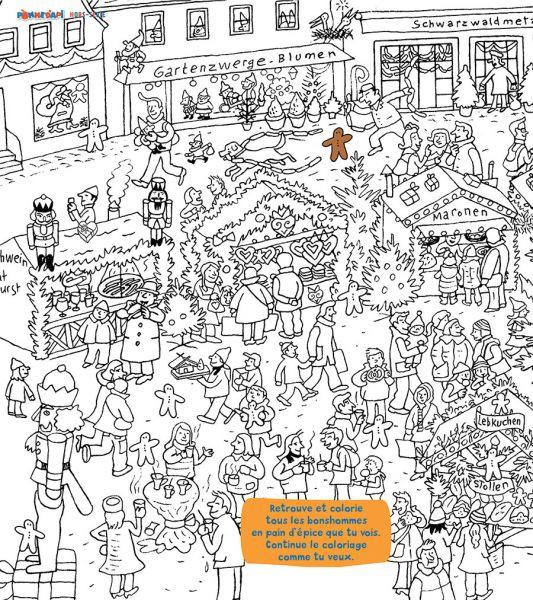 Coloriage et dessins gratuits Magasins et Clients à imprimer