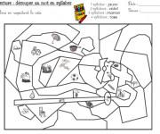 Coloriage et dessins gratuit Magique cp 28 à imprimer