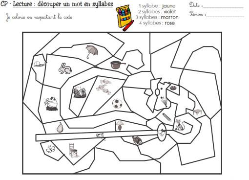 Coloriage Cp Syllabes.Coloriage Magique Cp 28 Dessin Gratuit A Imprimer
