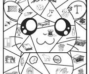 Coloriage et dessins gratuit Magique cp Pikachu à imprimer