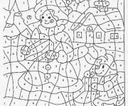 Coloriage et dessins gratuit Magiques 30 à imprimer