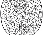 Coloriage Addition 36