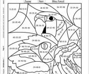 Coloriage et dessins gratuit Addition magique Le Perroquet à imprimer