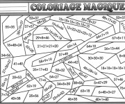 Coloriage Magique Addition