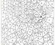 Coloriage Magique Chat