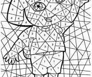 Coloriage et dessins gratuit Magique Dora Facile à imprimer