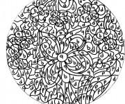 Coloriage dessin  Magique Lettres 33