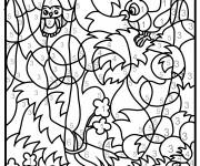 Coloriage et dessins gratuit Magique pour adulte à imprimer