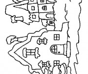 Coloriage dessin  Les Batiments 21