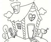 Coloriage Maison 38