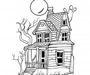 Coloriage Maison 40