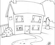Coloriage Maison en ligne