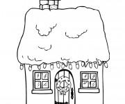 Coloriage dessin  Maisons 22