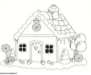 Coloriage dessin  Maisons 3