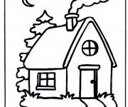 Coloriage Une petite Maison