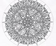 Coloriage Mandala Anti-Stress