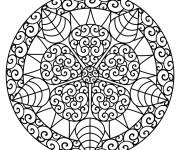 Coloriage Mandala en ligne
