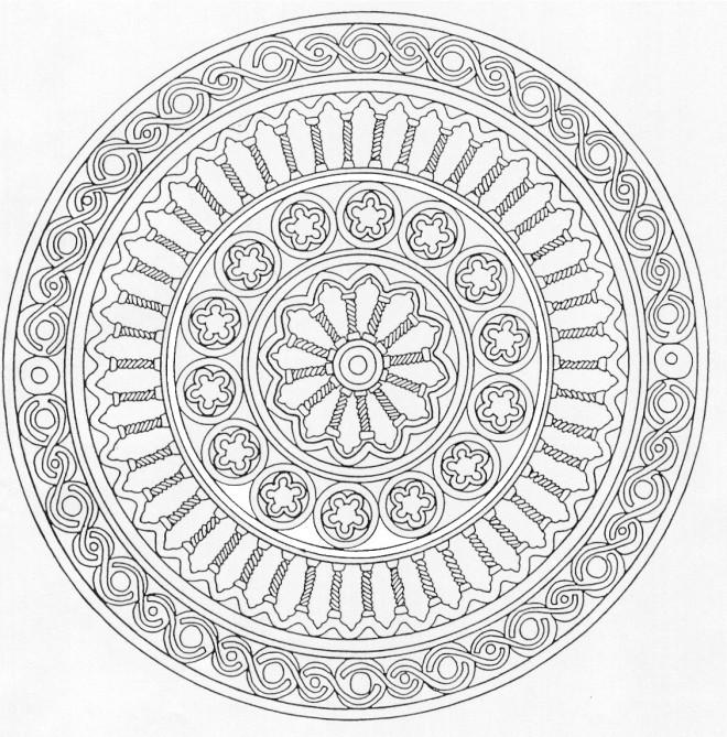 Coloriage et dessins gratuits Adulte Mandala à télécharger à imprimer