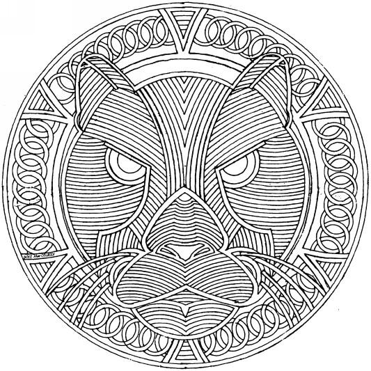 Coloriage et dessins gratuits Cougars facile à imprimer