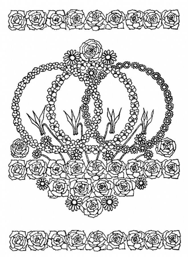 Coloriage Mandala Fleurs Au Jardin Dessin Gratuit A Imprimer