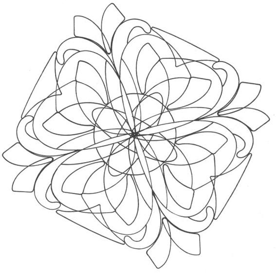 Coloriage et dessins gratuits Mandalas Fleurs magnifique à colorier à imprimer