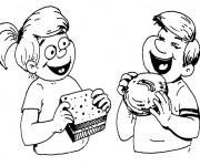 Coloriage dessin  Manger 13