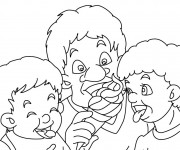 Coloriage dessin  Manger 14
