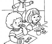Coloriage dessin  Manger 2