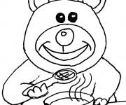 Coloriage et dessins gratuit Manger nourriture à imprimer