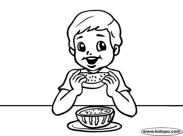 Coloriage manger past que dessin gratuit imprimer - Dessin manger ...