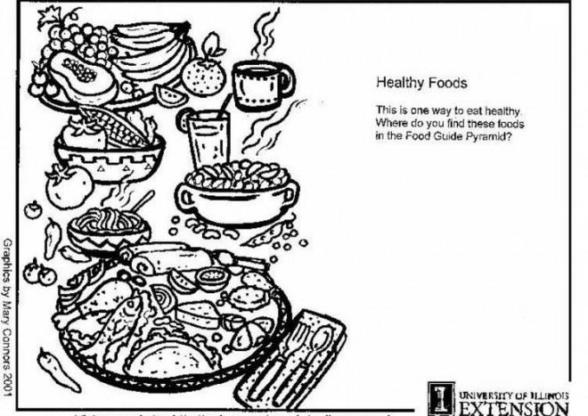 Coloriage et dessins gratuits Repas nutritif à imprimer