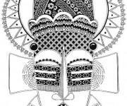 Coloriage et dessins gratuit Afrique 48 à imprimer