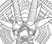 Coloriage et dessins gratuit Animal Africain en Ligne à imprimer
