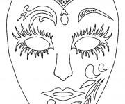 Coloriage dessin  Carnaval 25