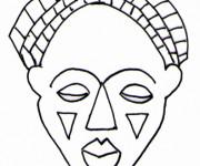 Coloriage et dessins gratuit Masque 12 à imprimer