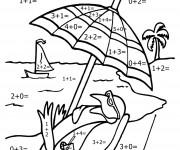 Coloriage et dessins gratuit Mathématiques 1 à imprimer