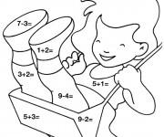 Coloriage et dessins gratuit Mathématiques 11 à imprimer