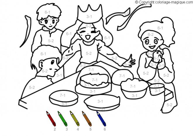 Coloriage Famille Magique.Coloriage Mathematique Et Famille Dessin Gratuit A Imprimer