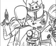 Coloriage dessin  Megamind 8