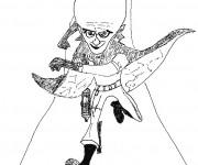 Coloriage et dessins gratuit Megamind en ligne à imprimer