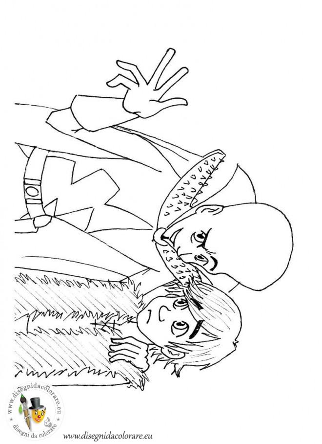 Coloriage et dessins gratuits Scène de Megamind à imprimer