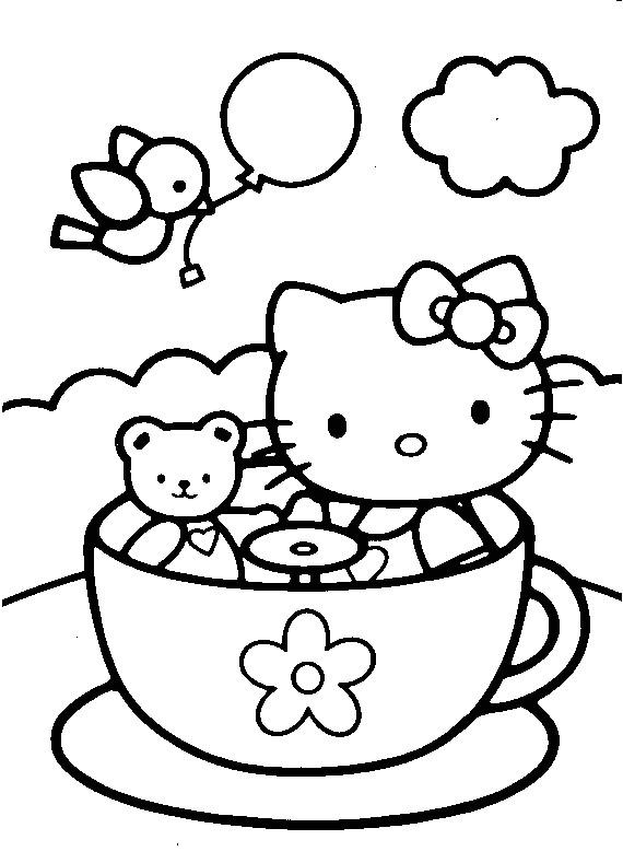 Coloriage et dessins gratuits Minou en couleur à imprimer