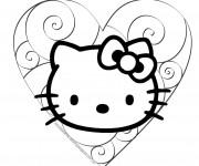 Coloriage Minou Hello Kitty