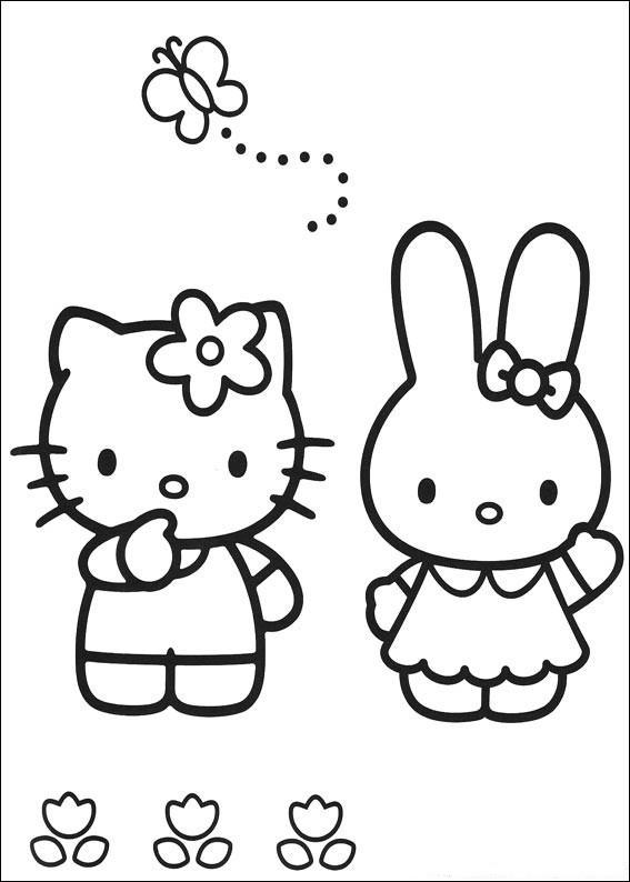 Coloriage et dessins gratuits Minou pour Fille à imprimer