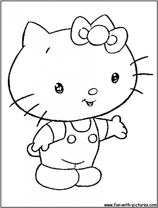 Coloriage et dessins gratuits Minou simple à imprimer