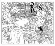 Coloriage dessin  Adulte Paysage 56