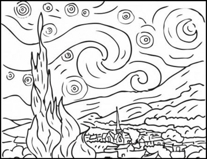 Coloriage et dessins gratuits Delaunay couleur à imprimer